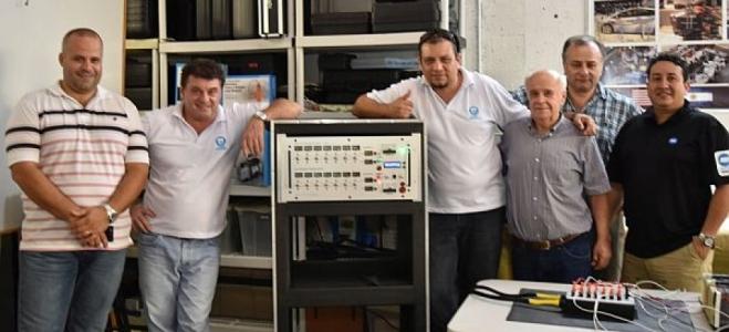 Banco de pruebas y restablecimiento de baterías de vehículos híbridos
