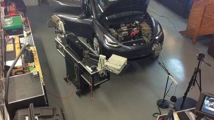 Diagnóstico y funciones de servicio para Tesla