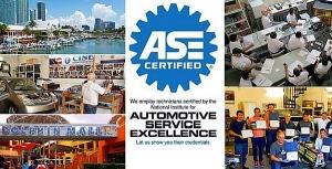 Actualización con Certificación ASE en Estados Unidos