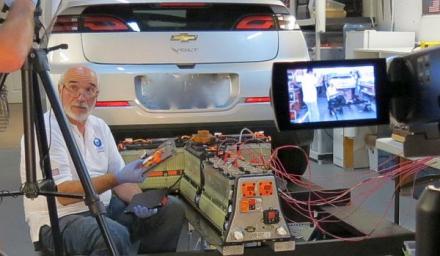 La Batería de alta tensión del Chevrolet Volt