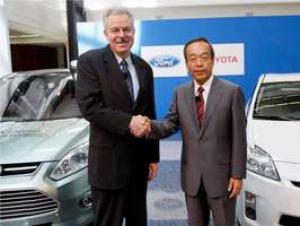 Toyota y Ford trabajarán en vehículos híbridos