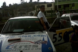 Cise Electronics apoyando el Rally en Ecuador