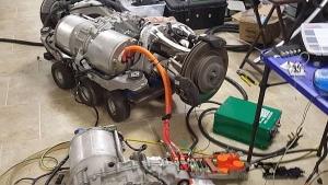 Especialidad transmisiones de los vehículos híbridos y eléctricos